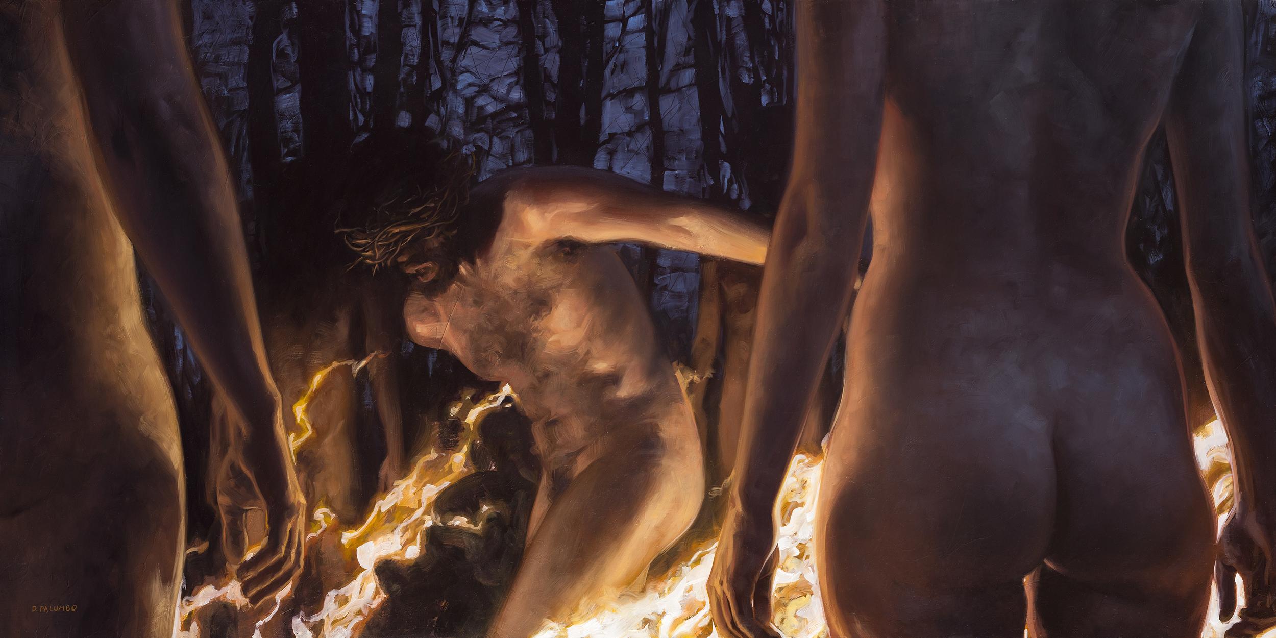 The Circle of Flame Artwork by David Palumbo