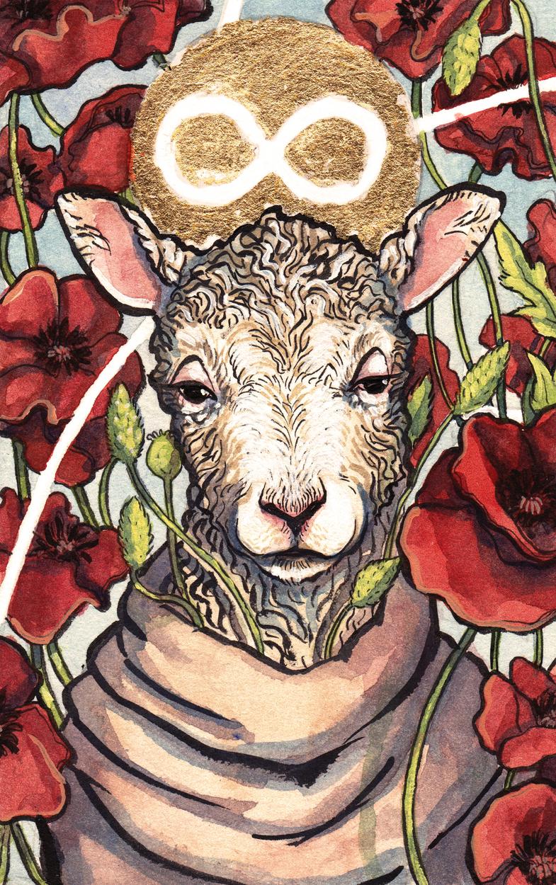 Flora & Fauna: Blissful Surrender Artwork by Matthew Spencer