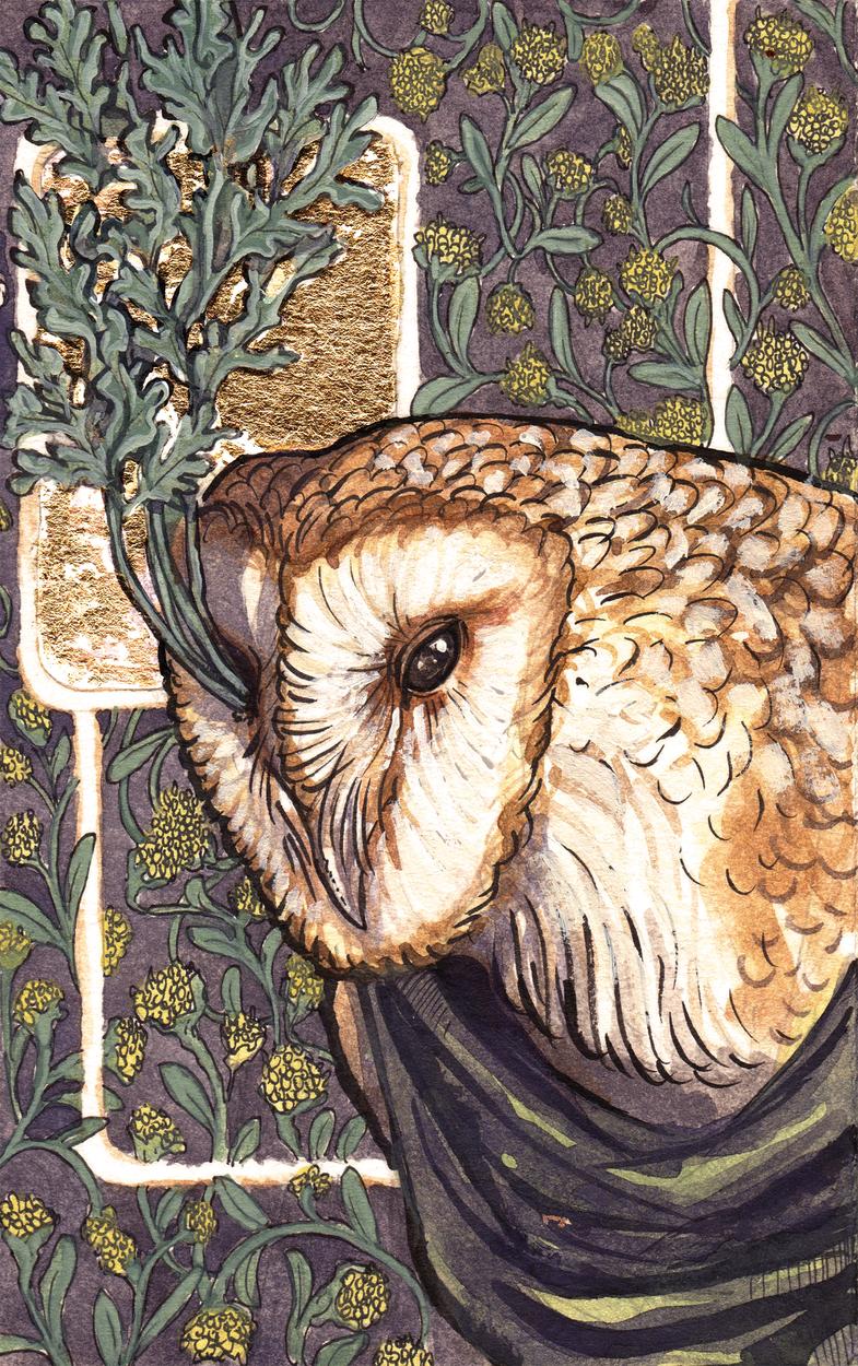 Flora & Fauna: Wormwood & Wisdom Artwork by Matthew Spencer