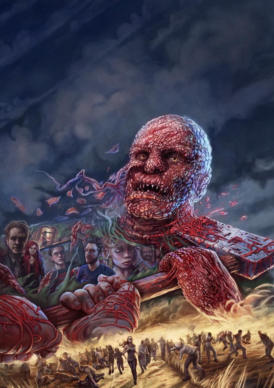 Dead Rush Artwork by Ken McCuen