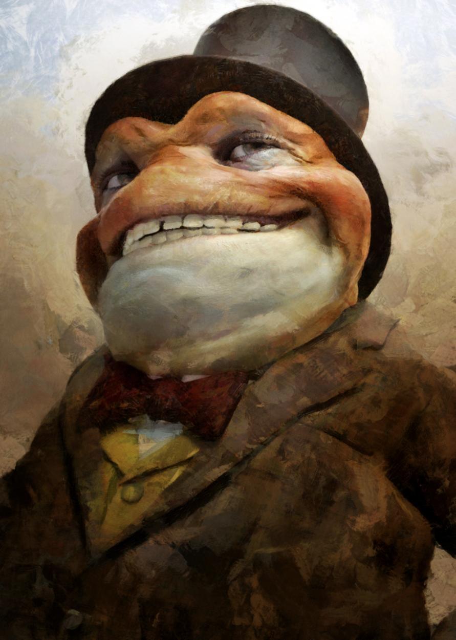Mr. Toad Artwork by Fred Jordan