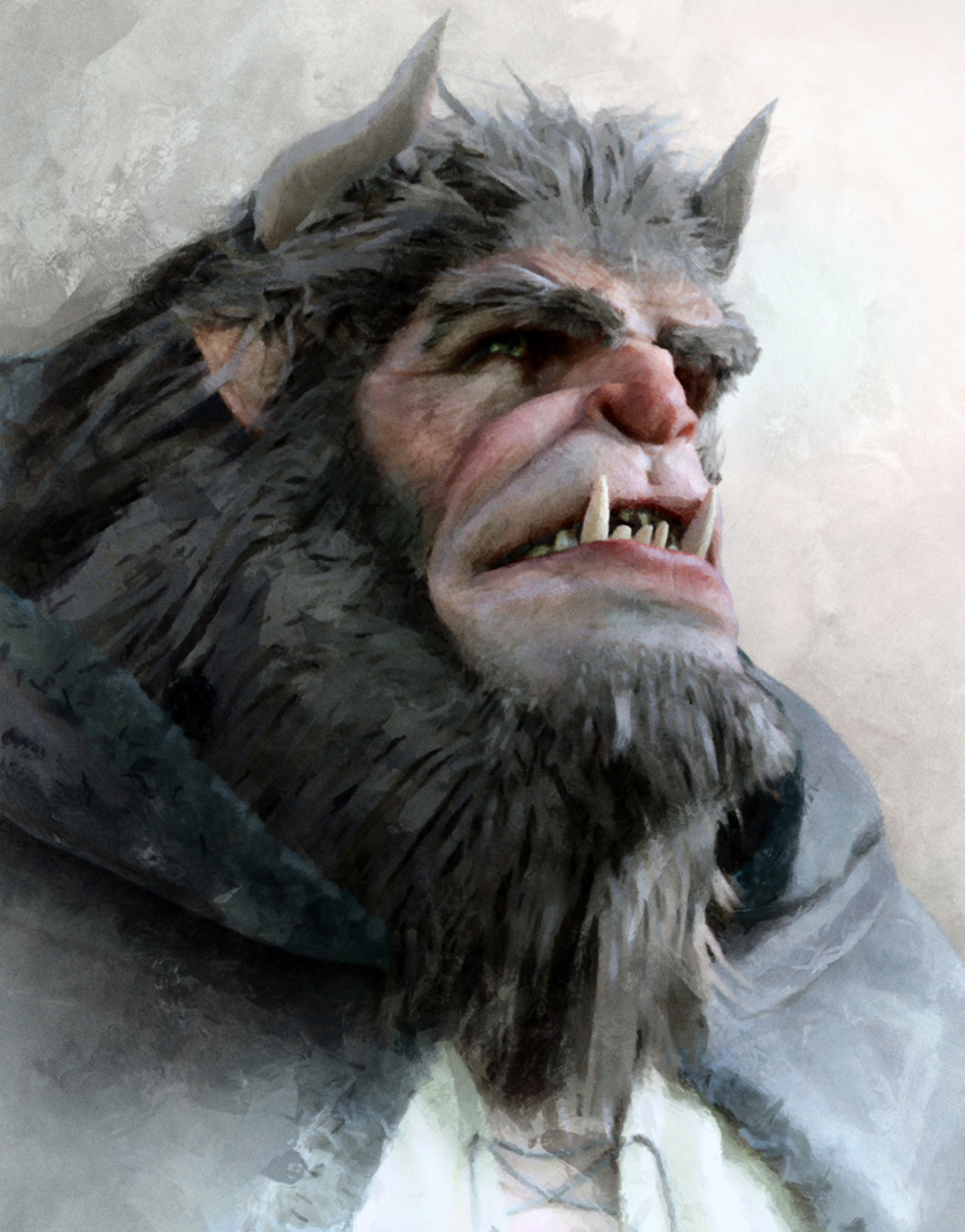 The Beast Artwork by Fred Jordan