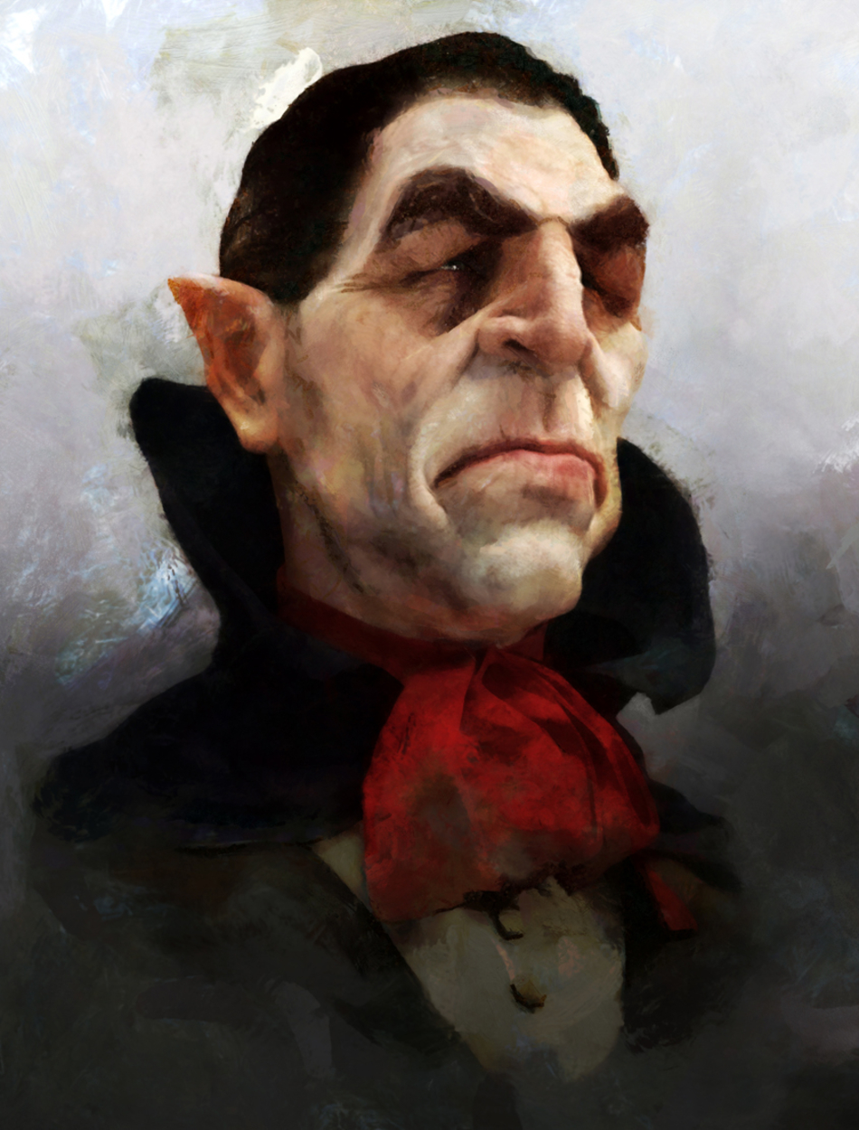 Dracula Artwork by Fred Jordan