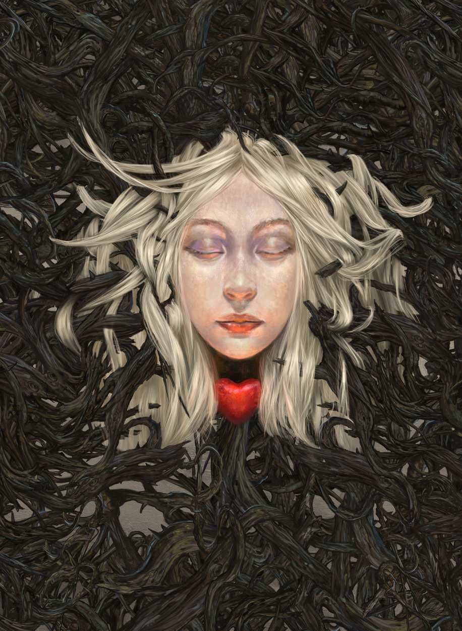 The Sleeper Artwork by Dagmara Matuszak