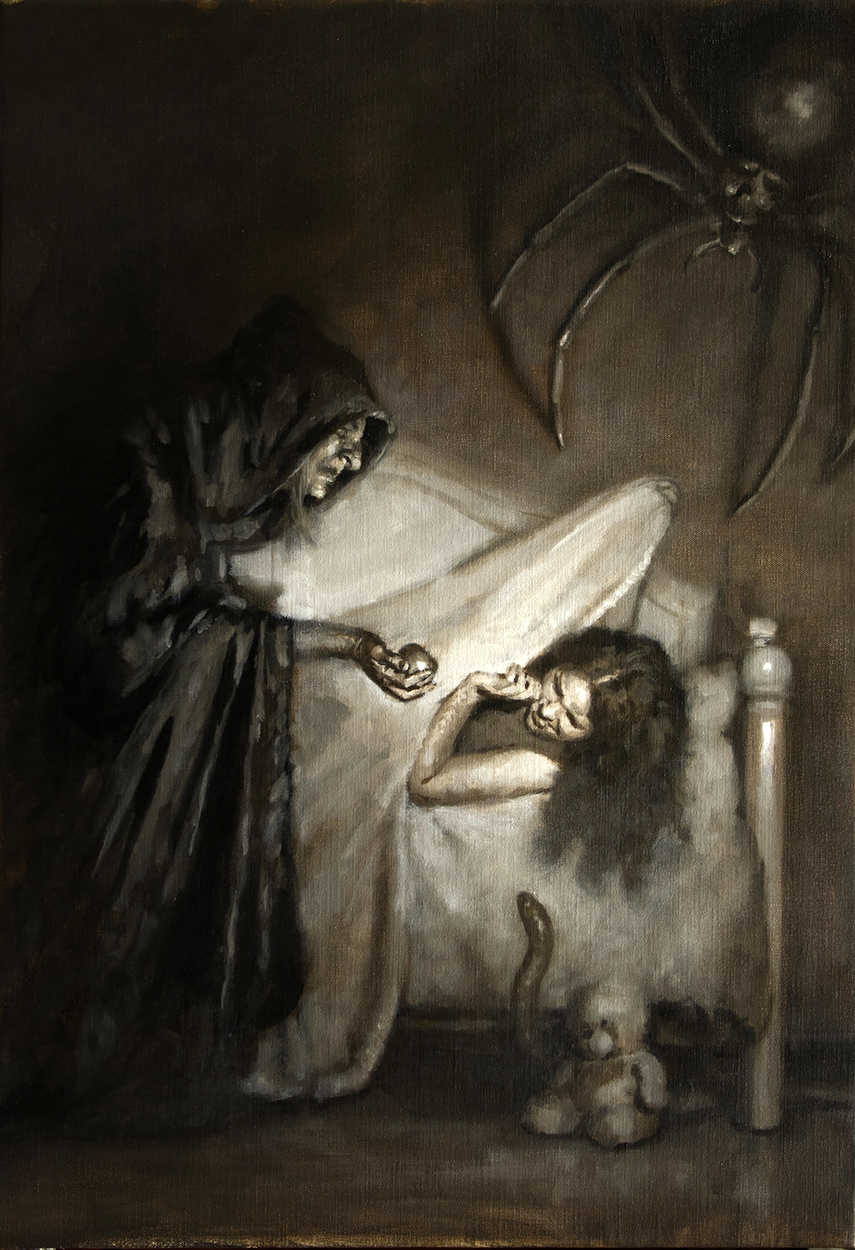 Nightmare Artwork by Dave Lebow