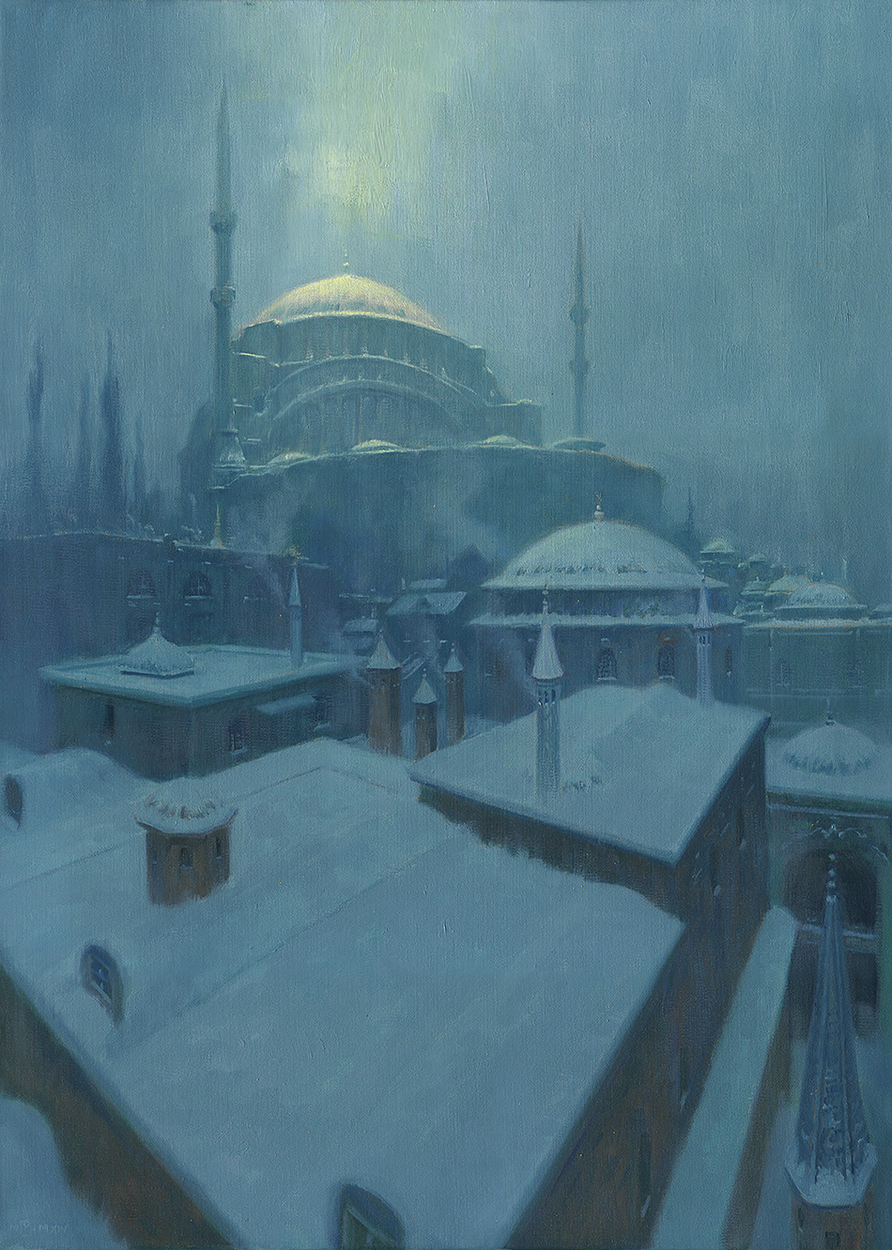 Cold Constantinople Artwork by Mark Harrison