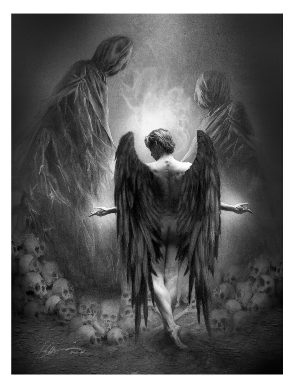TEARS OF LUCIFER Artwork by Jeff Echevarria