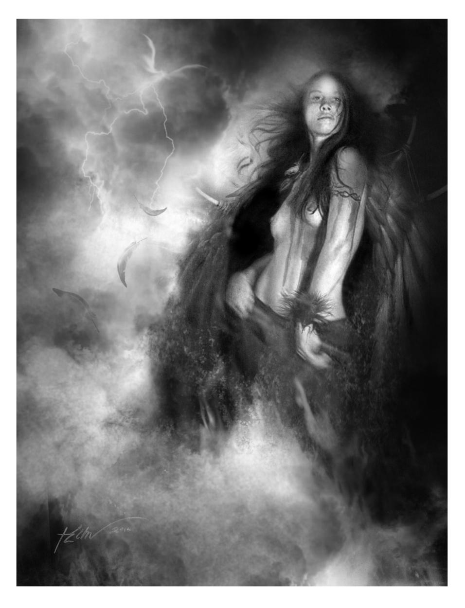 DANCE OF THE FIREDRAKE Artwork by Jeff Echevarria