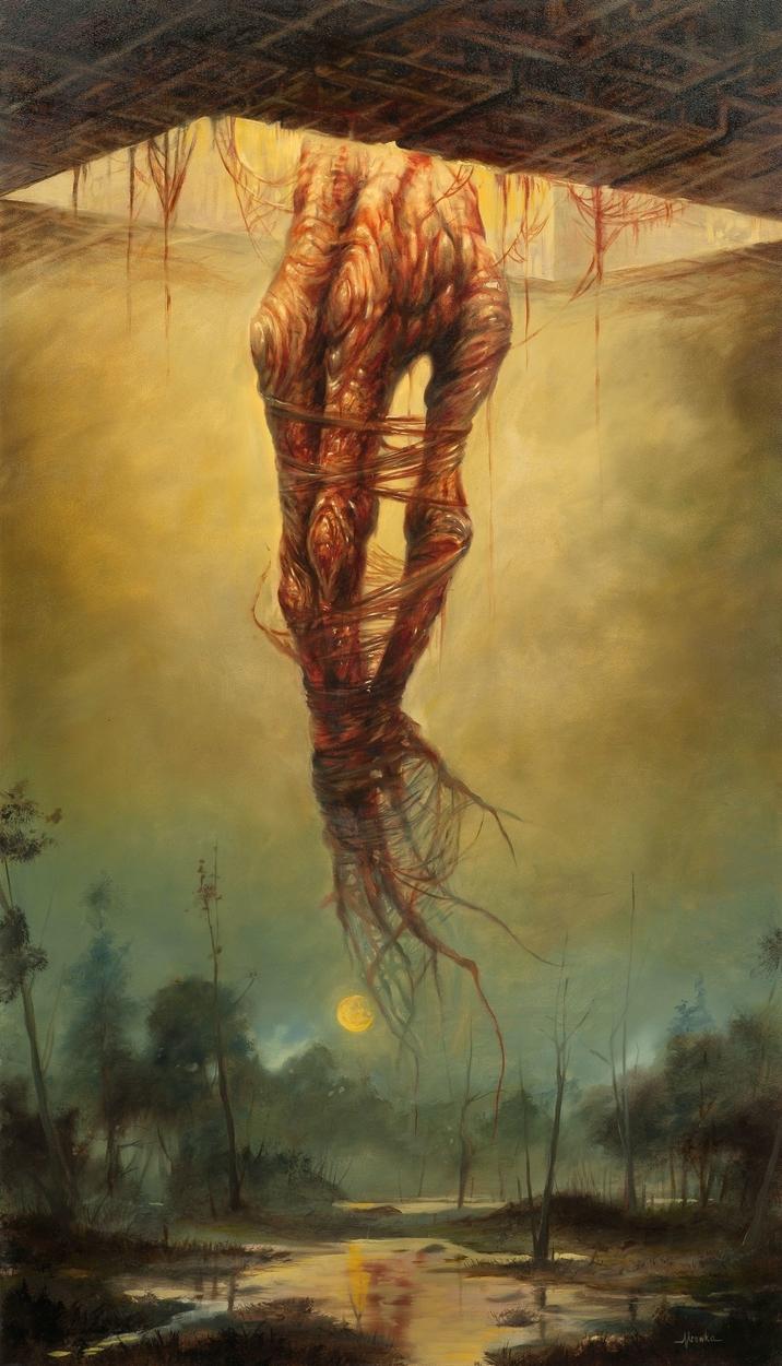 Root Knuckle Artwork by Matt Mrowka