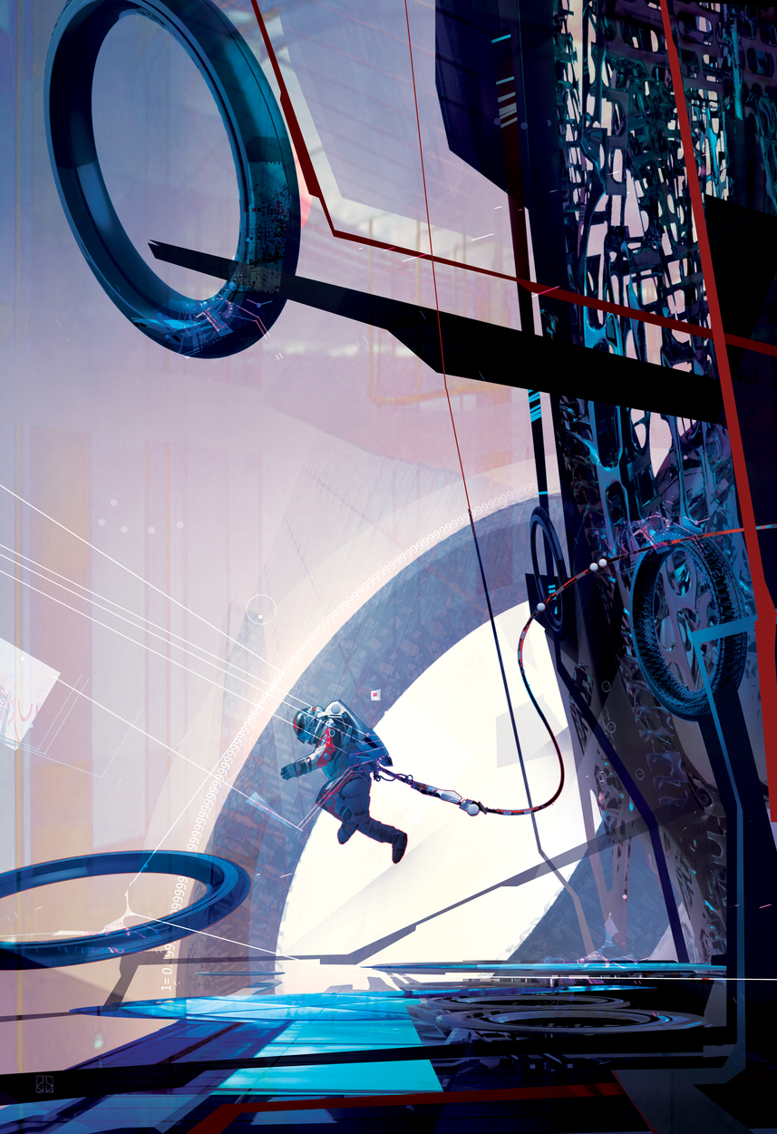 anthology Artwork by stephan martiniere