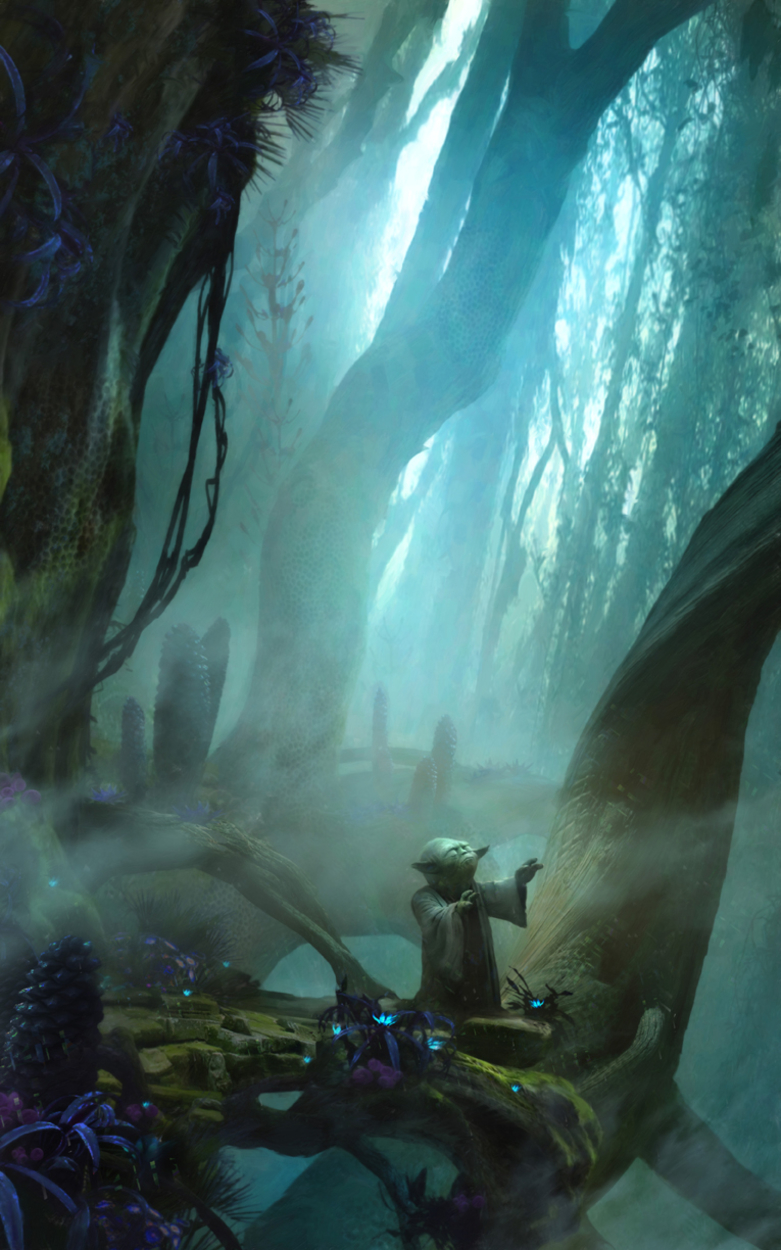there is no trying Artwork by stephan martiniere