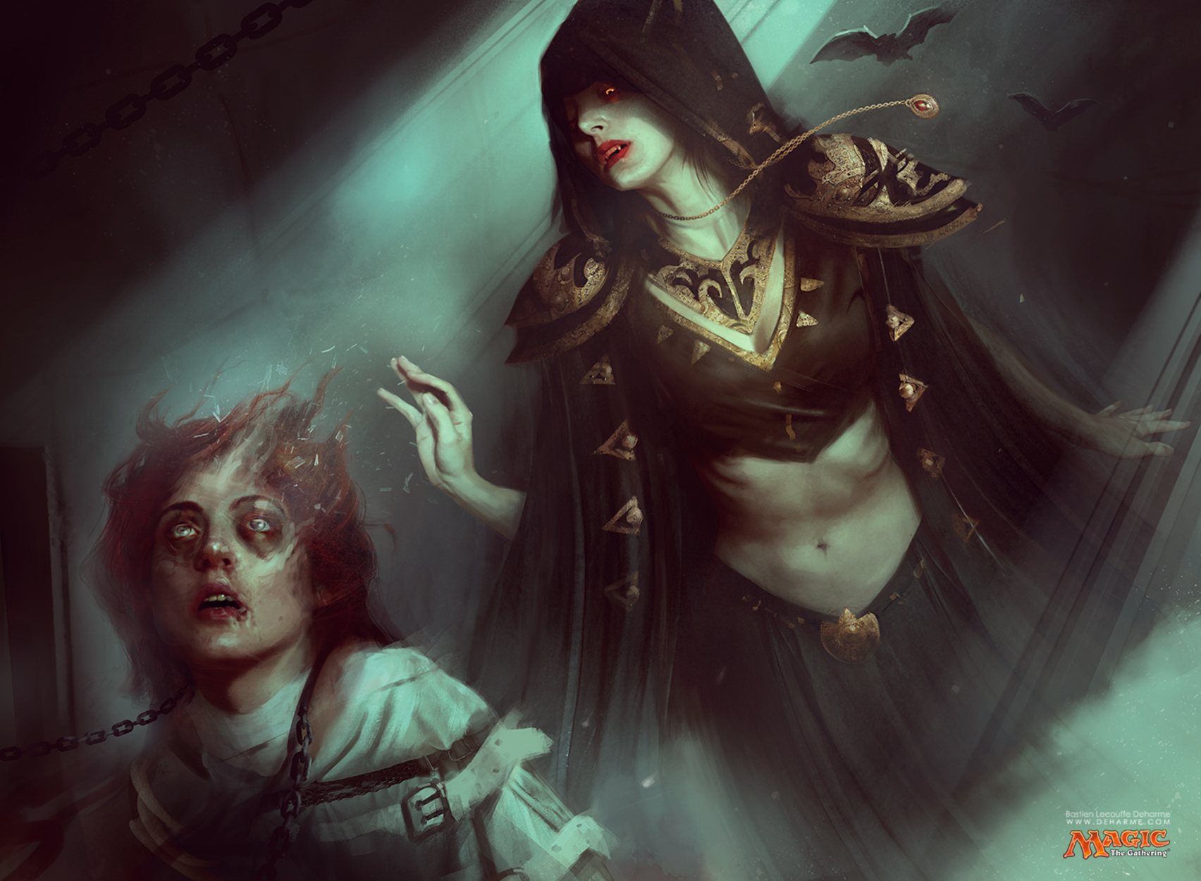Asylum Visitor Artwork by Bastien Lecouffe Deharme