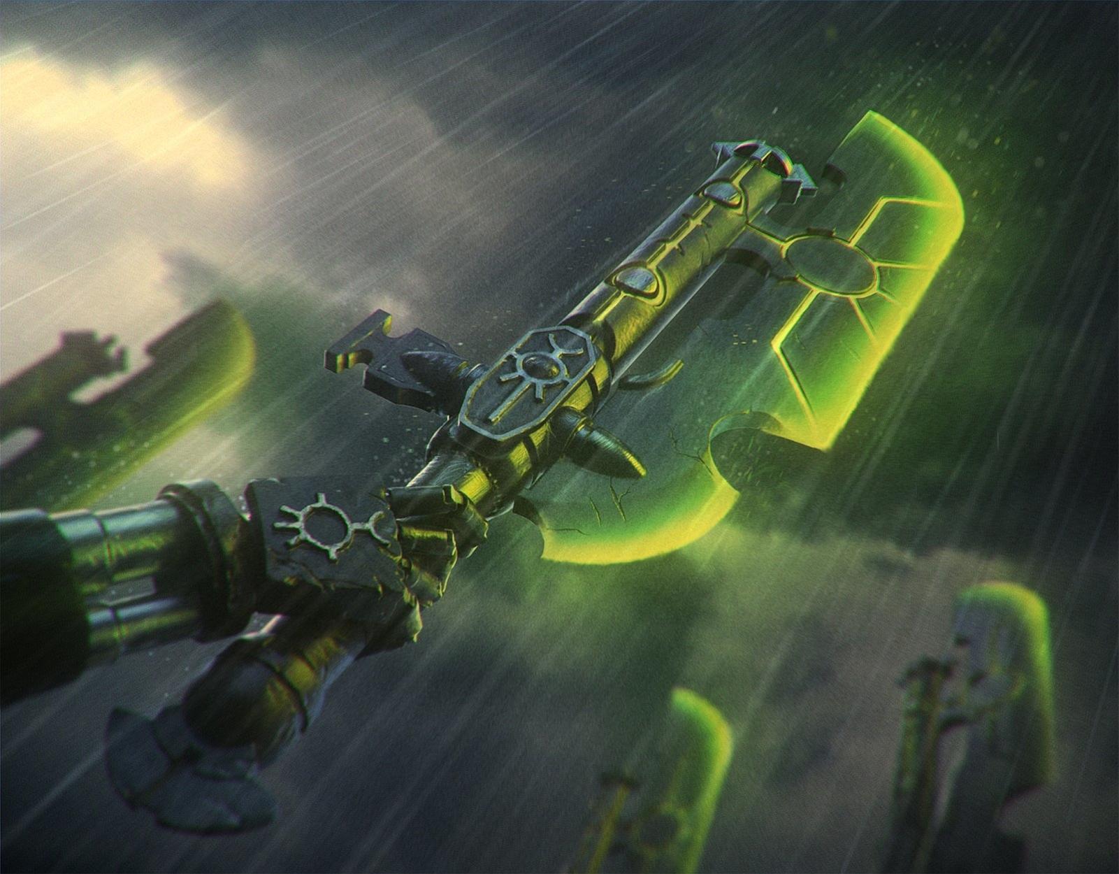 Hyperphase sword Artwork by Michal Milkowski