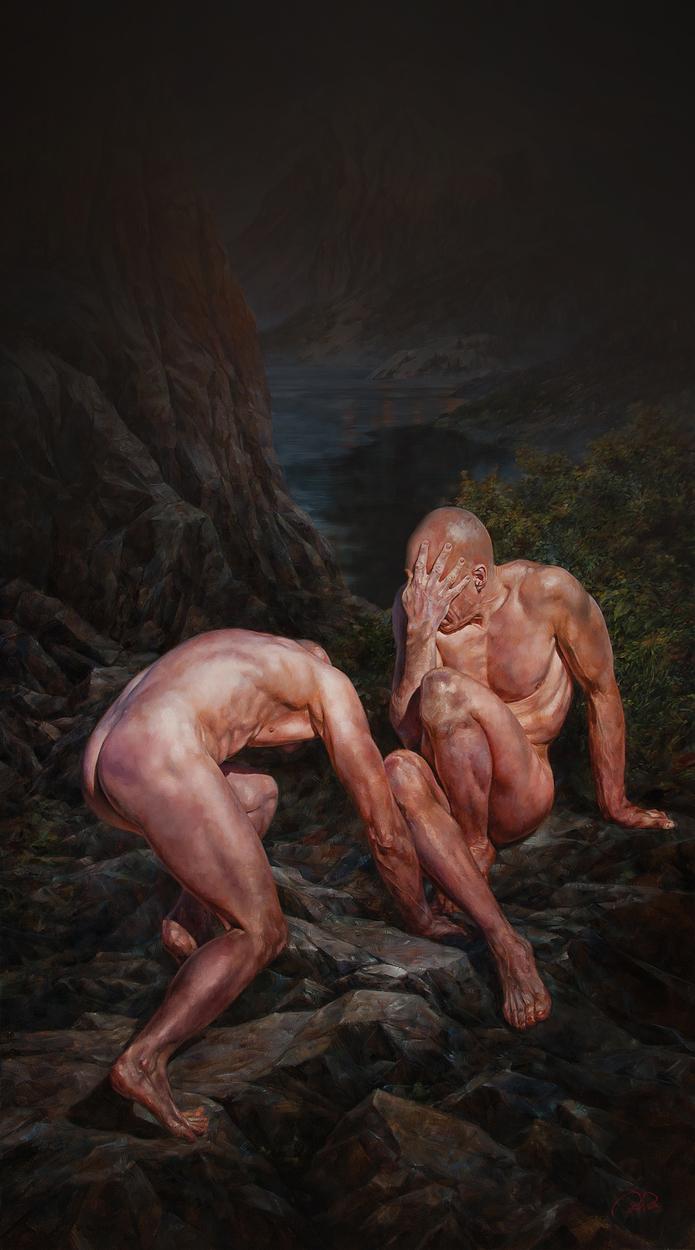 Peregrinatio Artwork by Colin  Poole