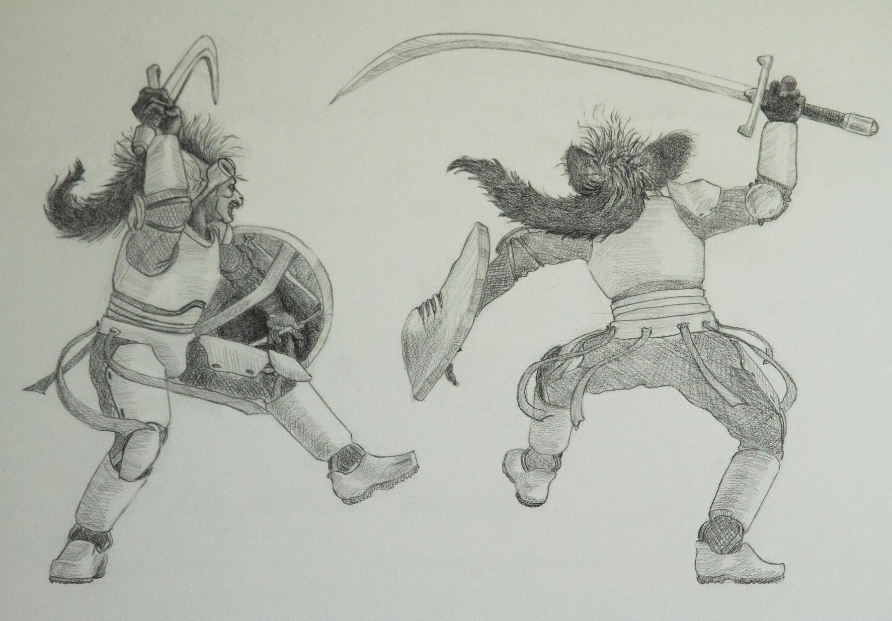 Nightfighter - Black and White Views Artwork by Erika Espiritu