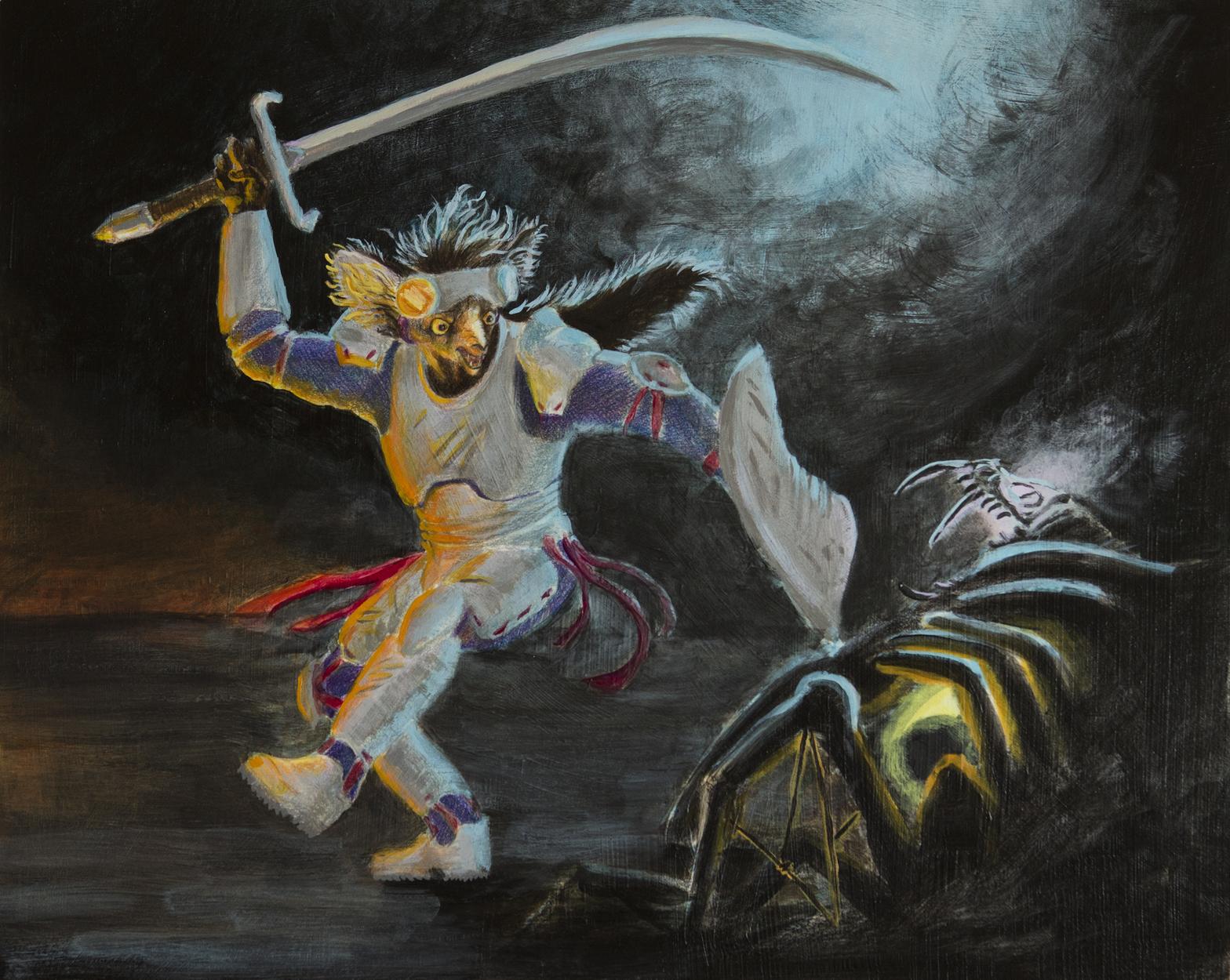 Nightfighter  Artwork by Erika Espiritu