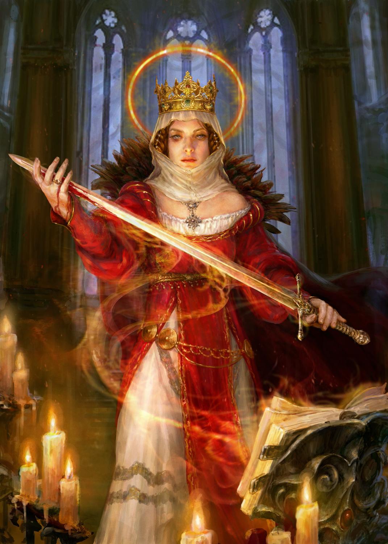 Sword for my King Artwork by Andrey Vasilchenko