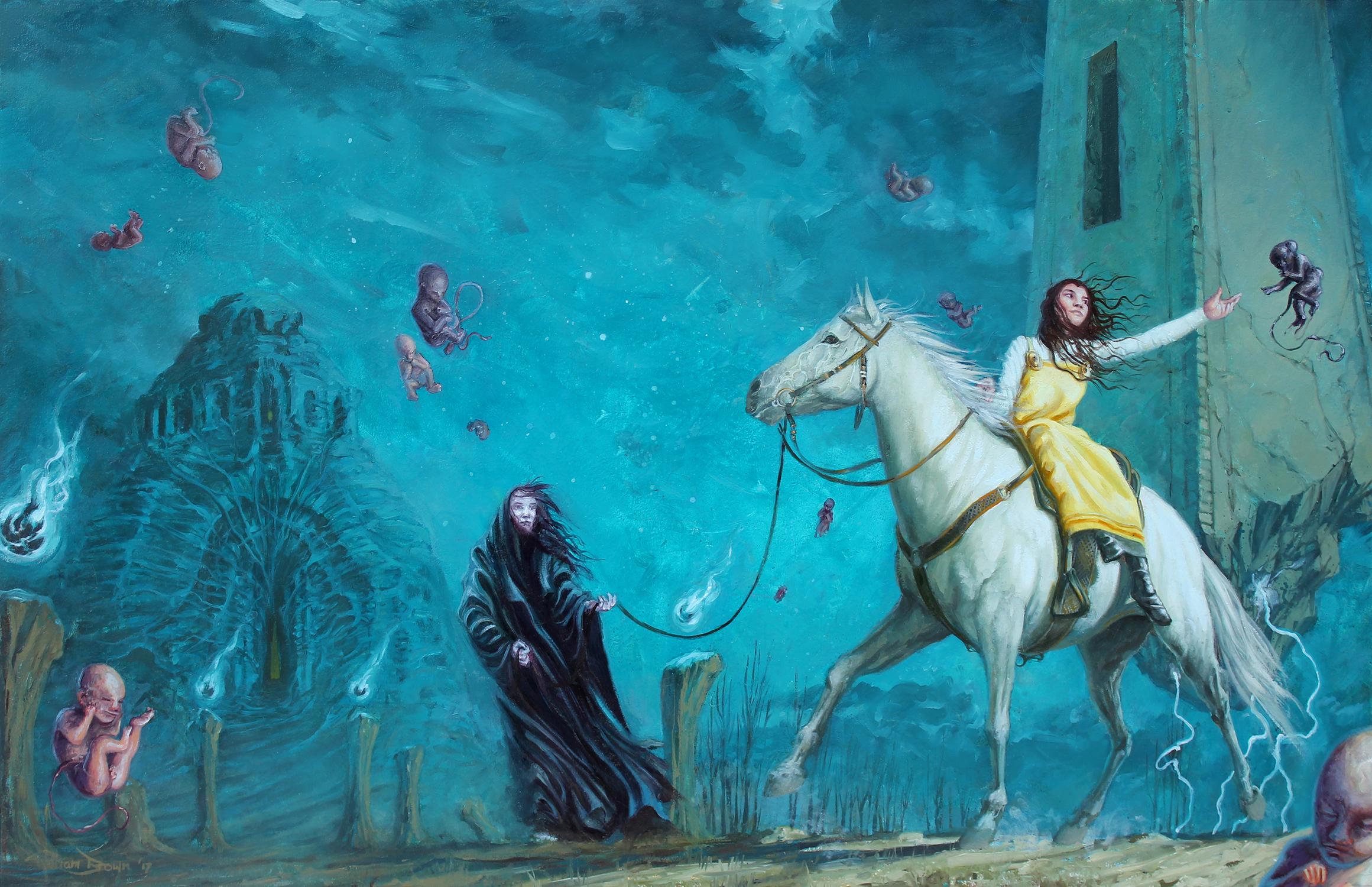 La Princessa de Morte Artwork by William Brown