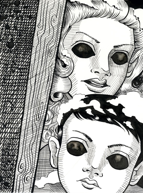 Let Us In Artwork by Melisa Des Rosiers