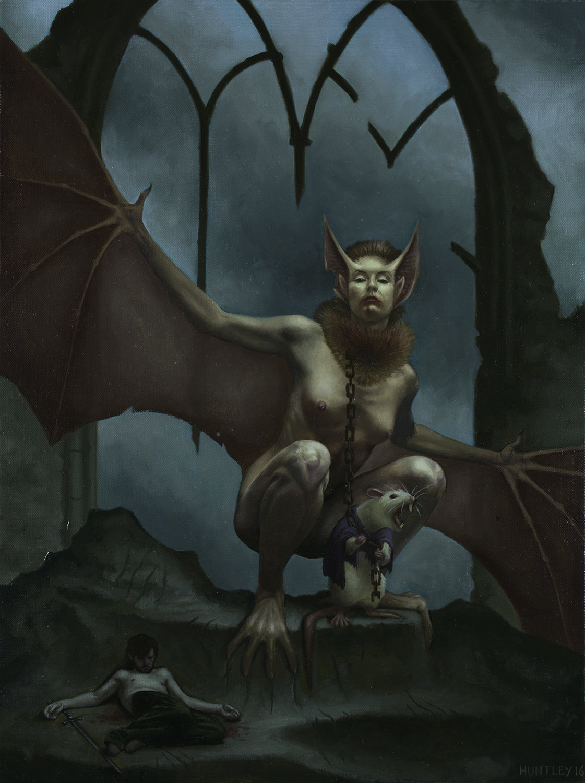 The Rat Prophet and His Familiar Upon Taking the Katholikon Artwork by Matthew Huntley