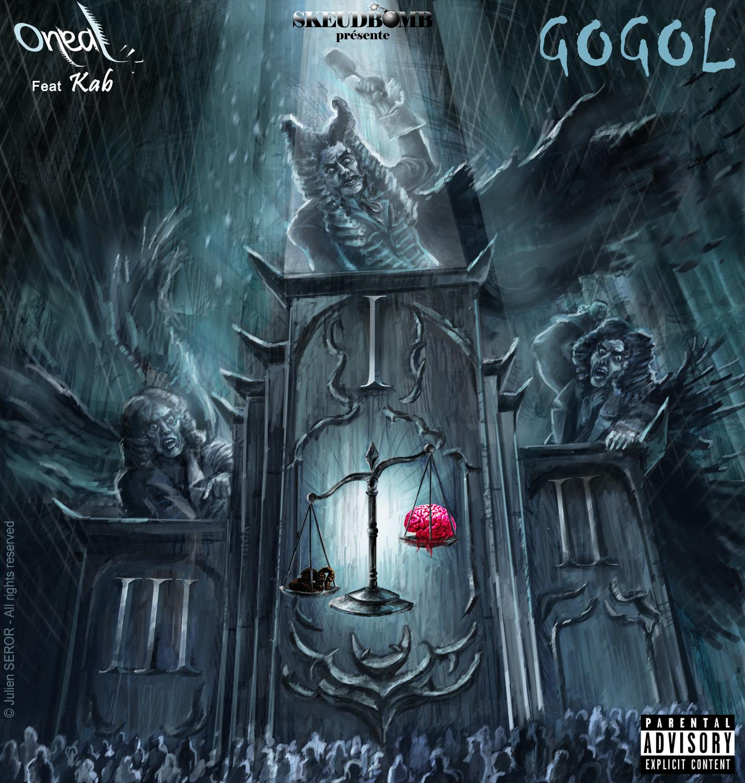 GoGol CD Cover Artwork by Julien SEROR