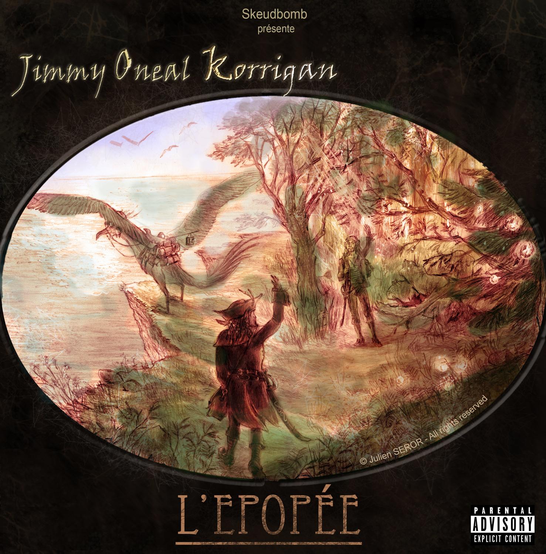 Epopée CD cover Artwork by Julien SEROR