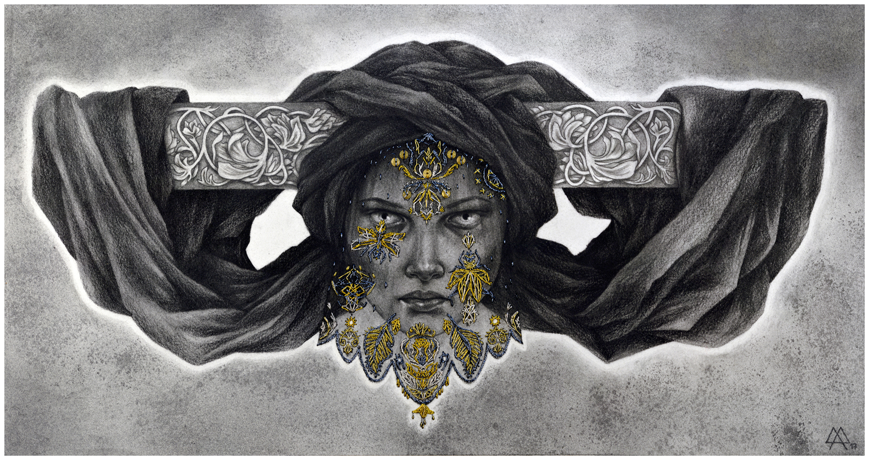 The Veil Artwork by Adeline Martin