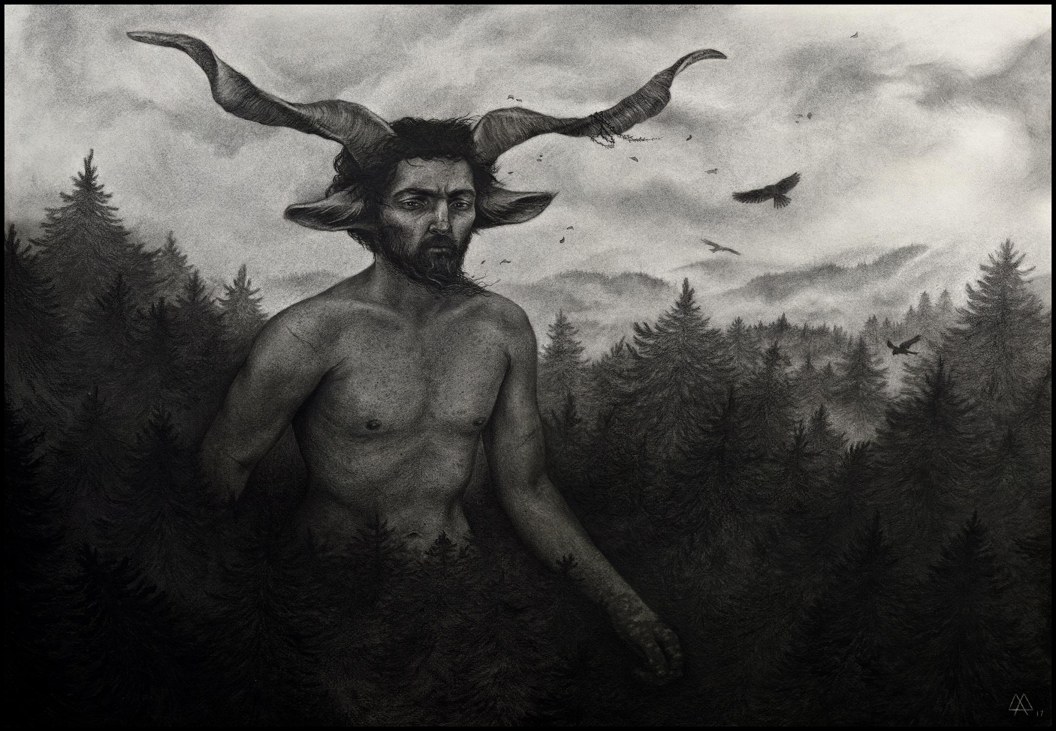 Nemus II Artwork by Adeline Martin