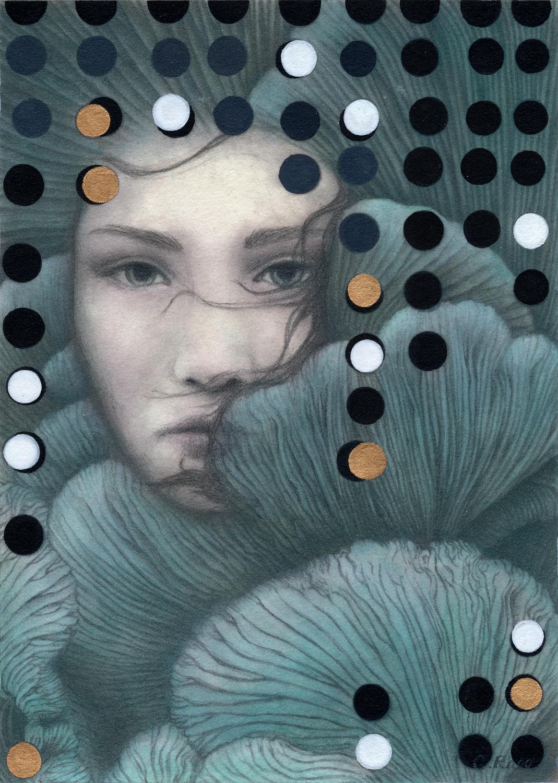 Oyster Artwork by Christine Rhee