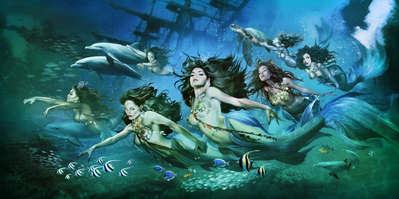 Seven Sirens Artwork by Steve Ferris
