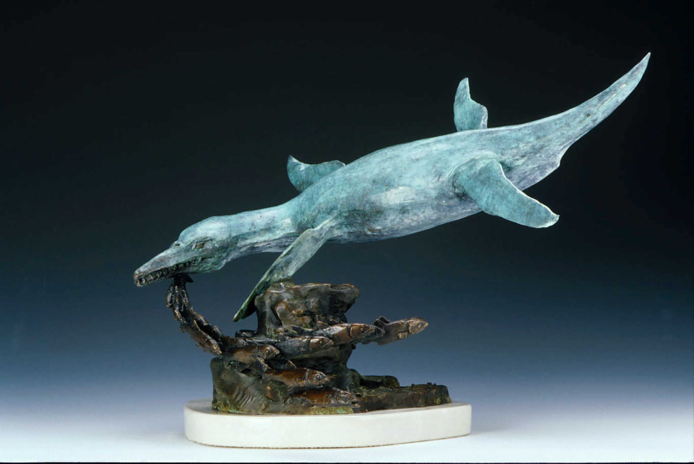 Pliosaur Artwork by james herrmann