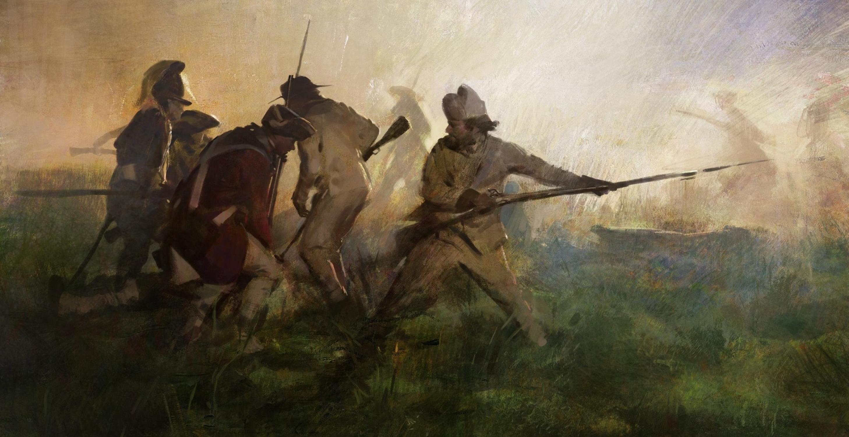 Battle Field Artwork by Wangjie Li