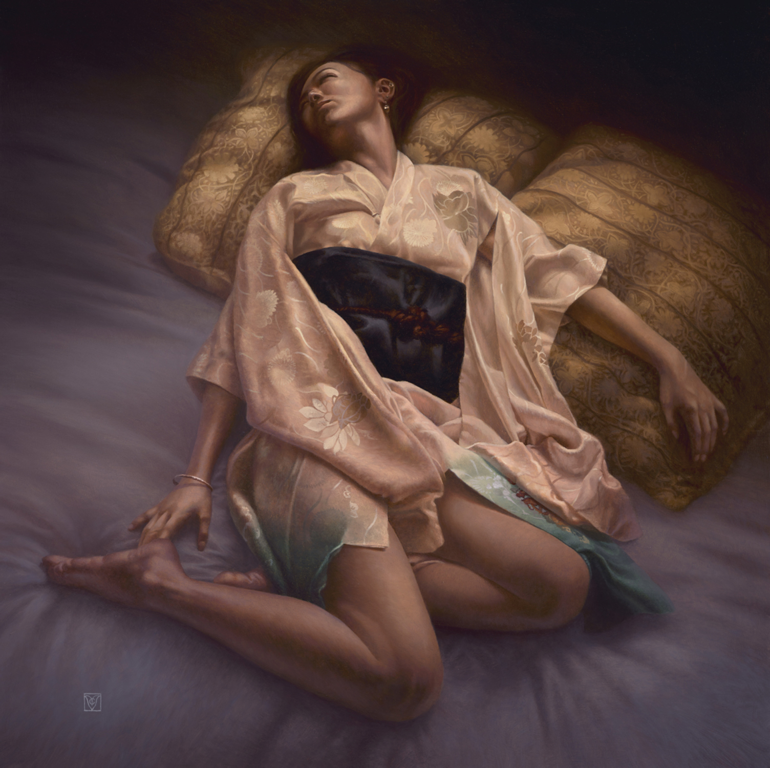 In the realm o Morpheus Artwork by Christophe Vacher