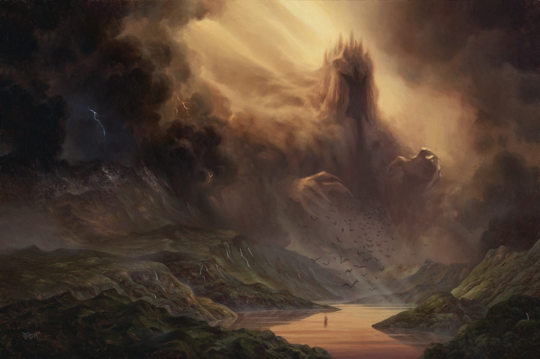King Of The North Artwork by Christophe Vacher