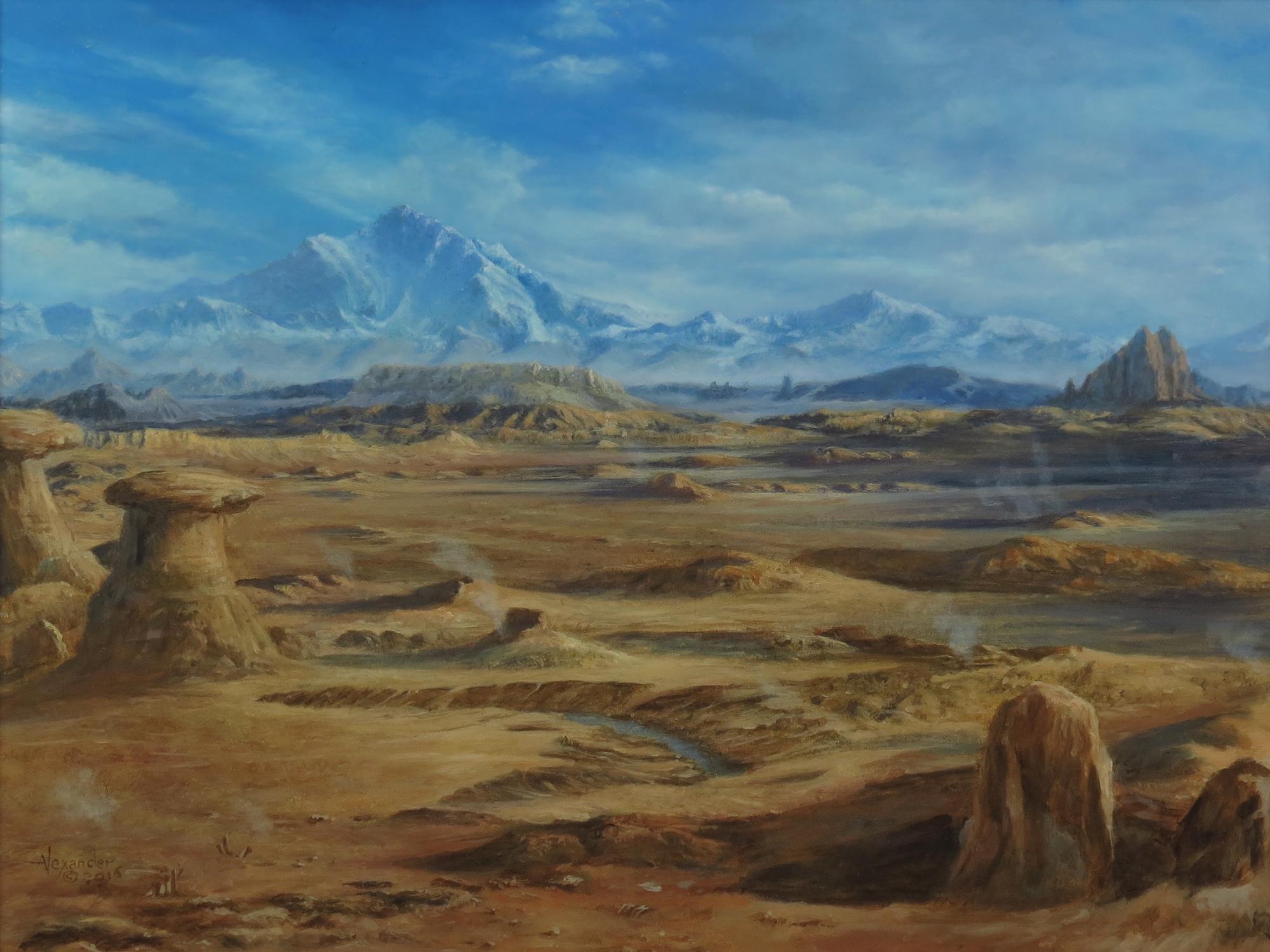 The Desolation Artwork by Rob Alexander