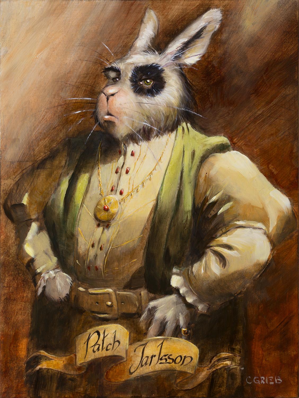 Portrait of Patch Jarlsson Artwork by Chuck Grieb