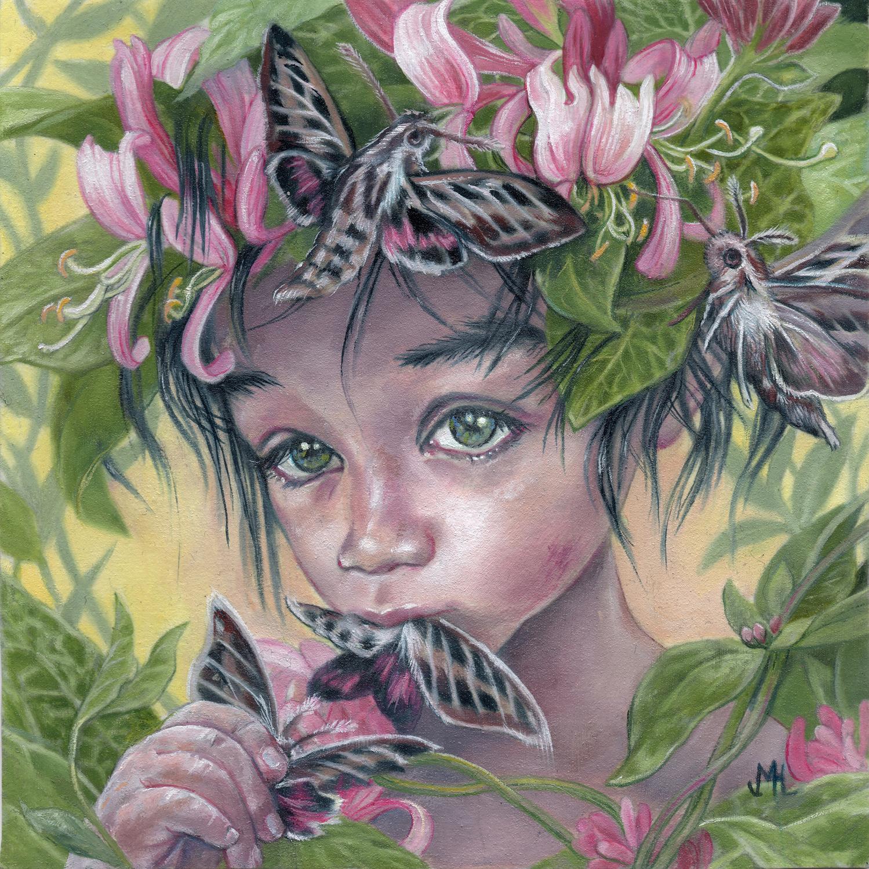 Ravenous Artwork by Jennifer Hrabota Lesser