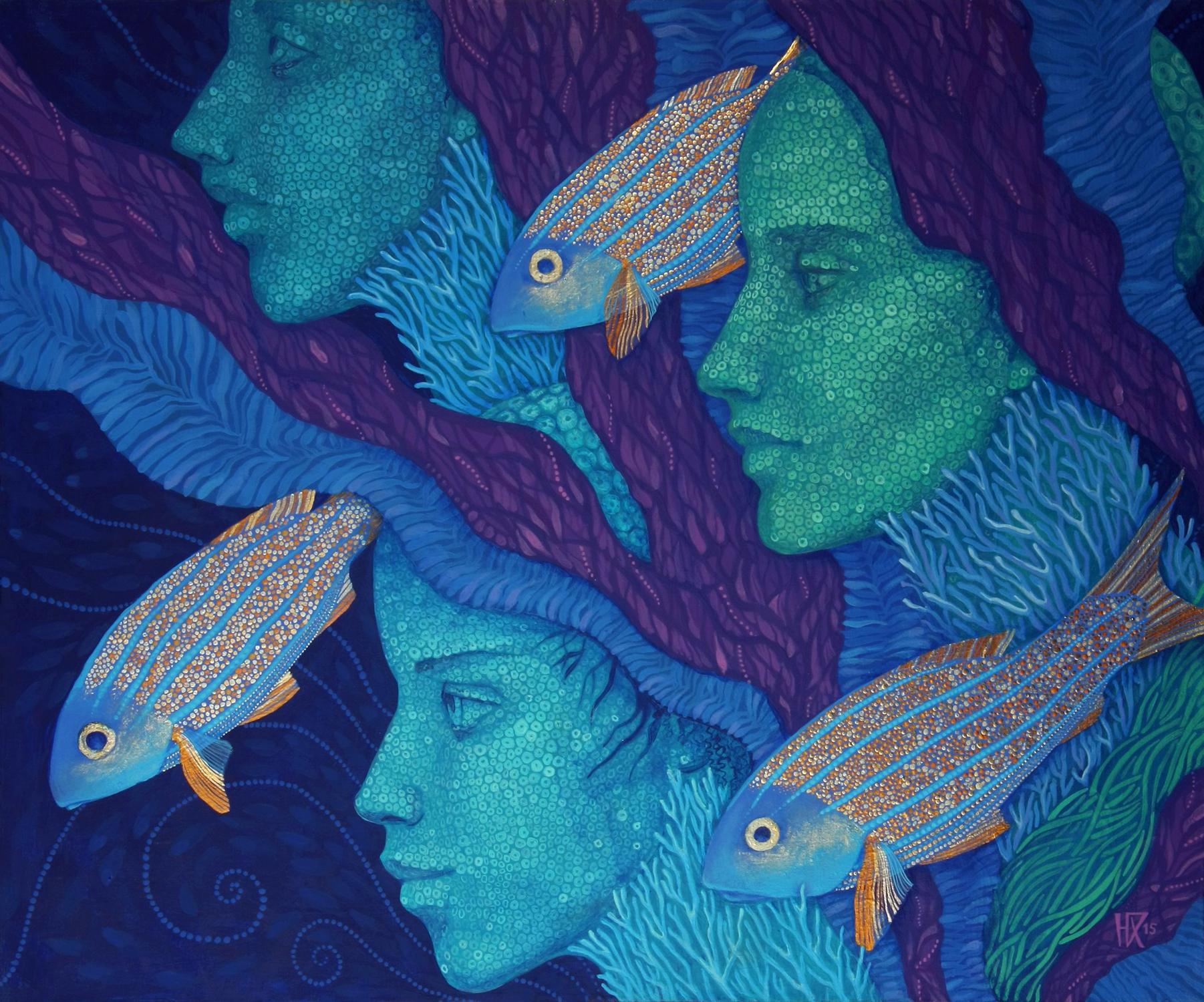 The Waiting Artwork by Julia Khoroshikh