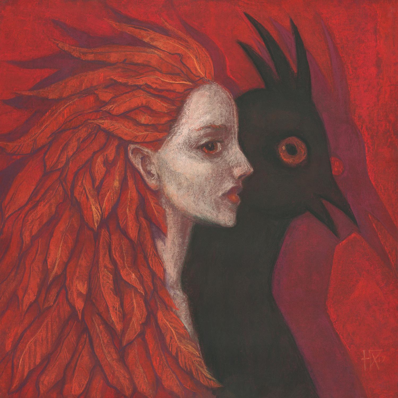 Psychopomop Artwork by Julia Khoroshikh