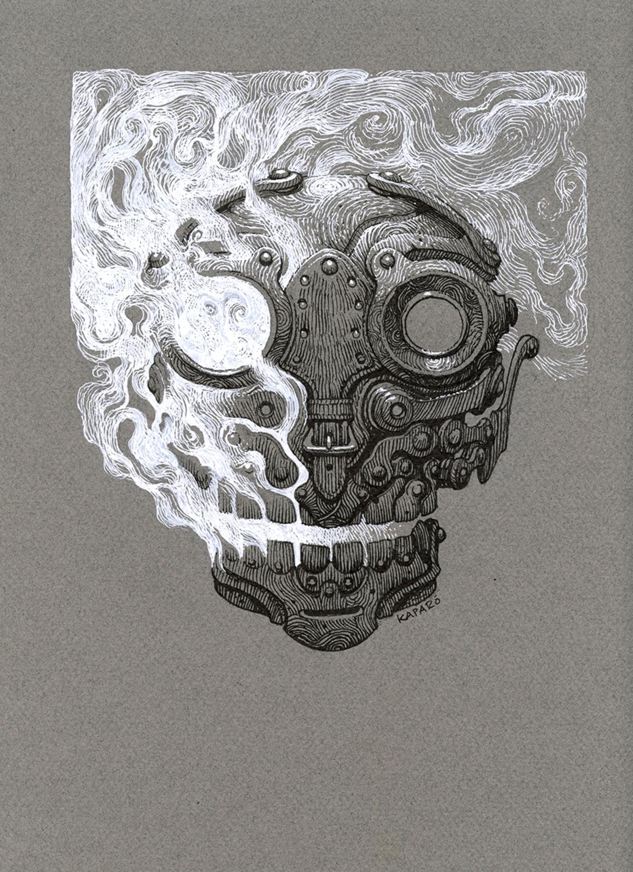 Escaping Soul Artwork by Antonio Caparo