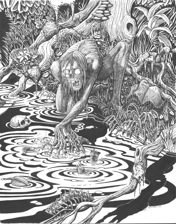 Baptism Artwork by PAUL MASSARO