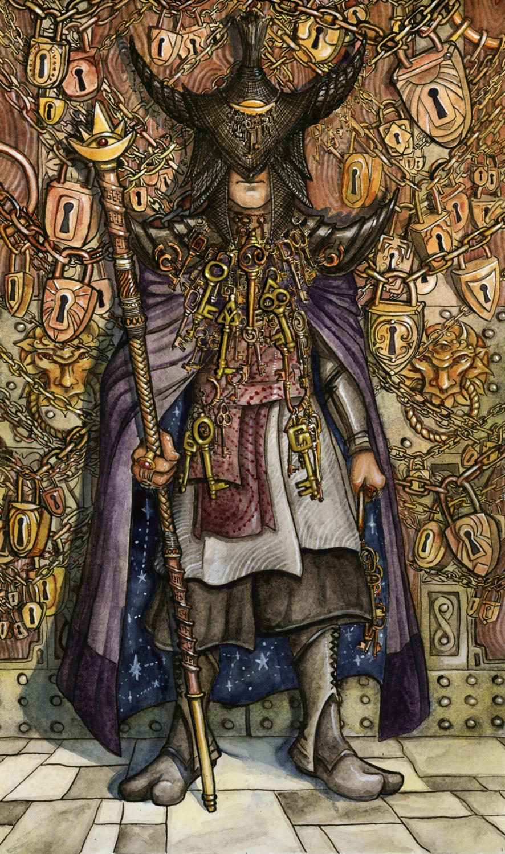 The Hierophant Artwork by Rachel Quinlan