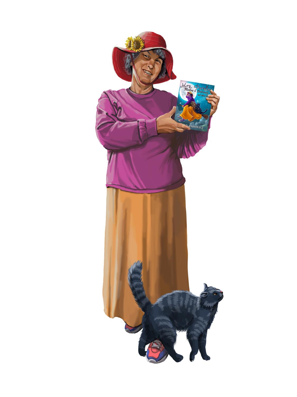 Mrs. Parsley Promo Artwork by Jack Hoyle