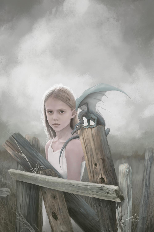 Storm on the Horizon Artwork by Jeszika Le Vye