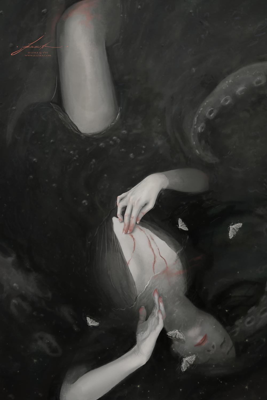 Cocoon Artwork by Jeszika Le Vye