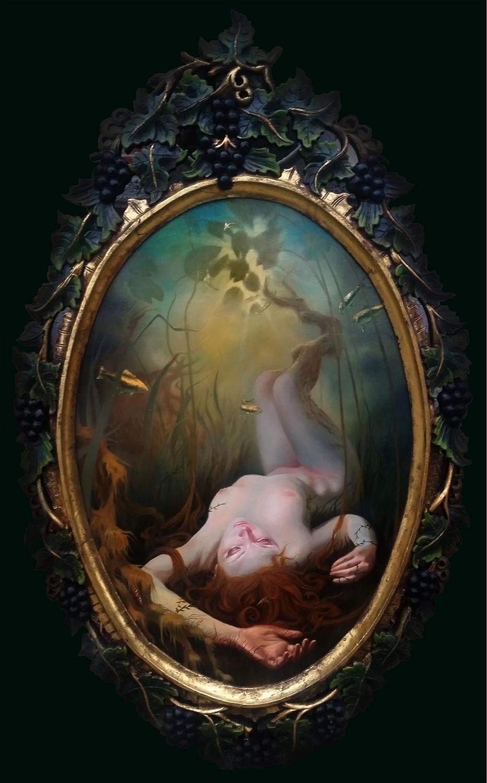 Ophelia Artwork by Rain Delmar