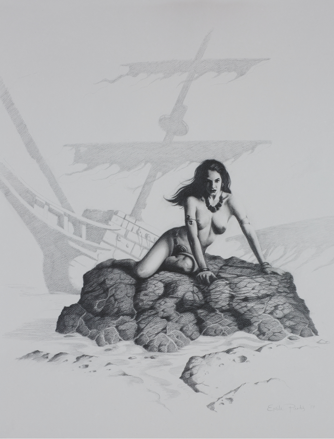 The Siren Artwork by emile parks