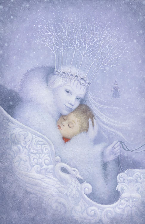 Snow Queen Artwork by Lisa Falkenstern