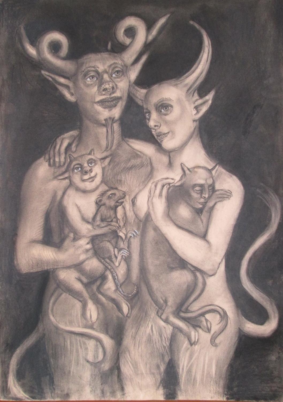 The Family Artwork by Dagnia Cherevichnik