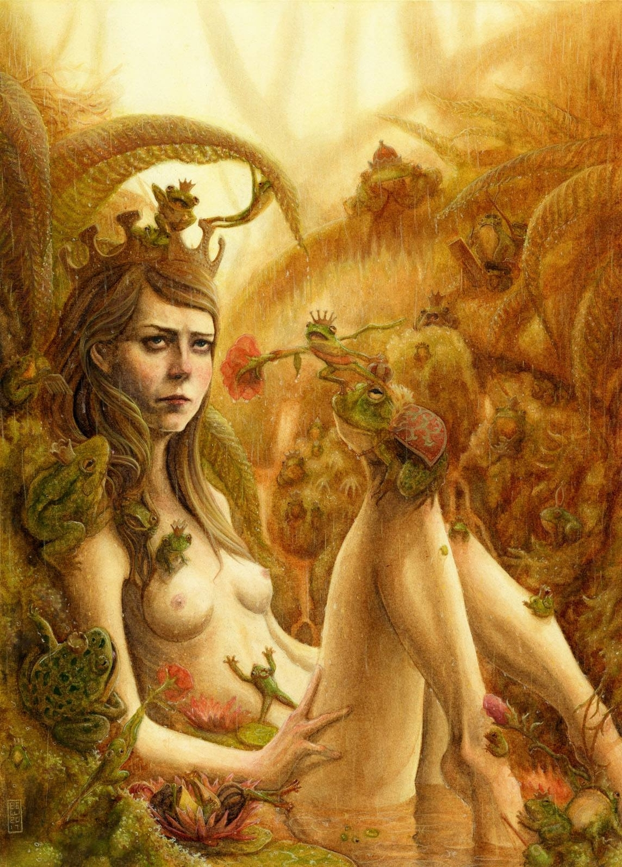 Fairy Tale Romance Artwork by Brian Woodward
